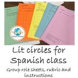 Grupos literarios: Lit circles in Spanish