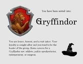 Gryffindor House Ticket