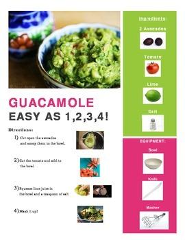 Guacamole Adapted Recipe