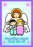 Guardian Angel Poster - Catholic