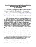 Guardians of Ga'hoole, book 4: the Siege - chapter summari