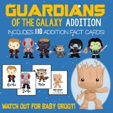 Guardians of the Galaxy Addition Facts Game!  110 Cards - Numbers 1-10