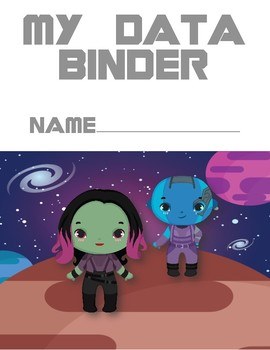 Guardians of the Galaxy Inspired Data Binder