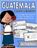 Guatemala Booklet (A Country Study!)