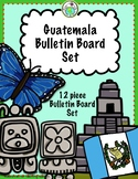 Guatemala Bulletin Board Set of 12 Culture and Mayan Culture