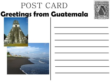 Guatemala Lesson