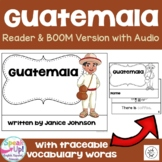 Guatemala Reader {English version} & Vocab pages ~ Simplified for Young Readers