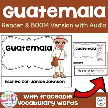 Guatemala Reader {en español} & Vocab pages ~ Simplified for Language Learners