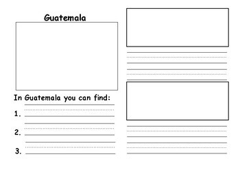 Guatemala Travel Brochure