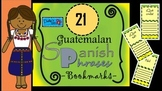 Guatemalan Spanish Phrases Bookmars