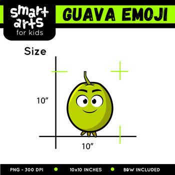 Guava Emoji Clip Art