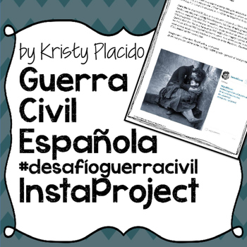 Guerra Civil Española Instagram Project