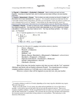 Guerrilla Writing Basic Essays Ch 16 Appendix