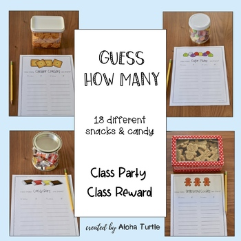 Guess How Many - Class Reward, Class Party