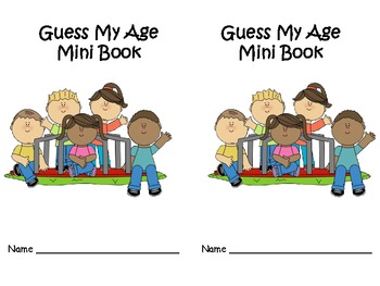 Guess My Age Mini Book