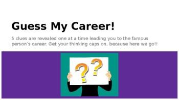 Guess My Career!
