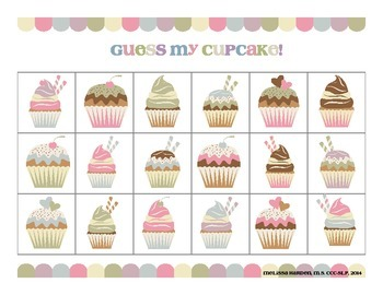 Guess My Cupcake: Two Sweet Receptive Language Activities