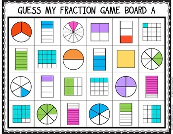Guess My Fraction! A Strategic Game to Help Students Learn their Fractions