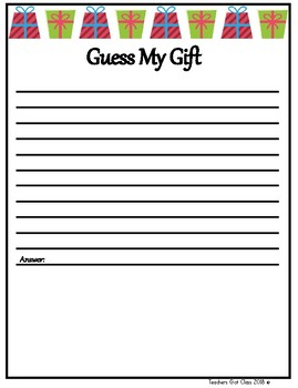 Guess My Gift