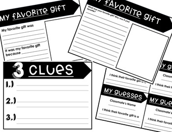 Guess My Gift: Winter Inferencing Activity