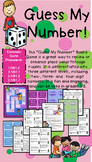 Grade 2 Guess My Number Place Value Board Game - Differentiated