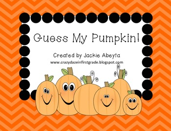 Guess My Pumpkin!