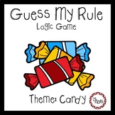 Guess My Rule Logic Game: Candy Theme
