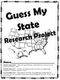 Guess My State Research Project