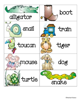 Guess My Word Station Packet