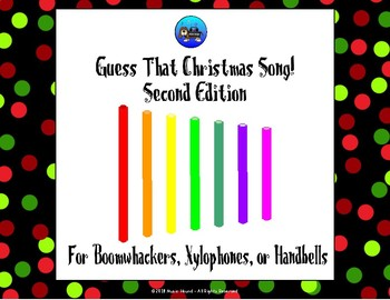 Guess That Christmas Song 2nd Editon  - Boomwhackers/Xylophone/Handbells