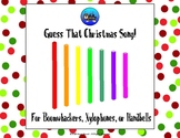 Guess That Christmas Song - Boomwhackers/Xylophone/Handbel