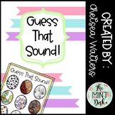 Guess That Sound Easter or Spring Egg FREEBIE