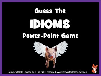Idioms - What Idiom Is That?