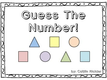 Guess The Mystery Number - Number Sense Riddles