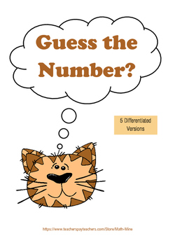 Guess The Number - Number Vocabulary Game
