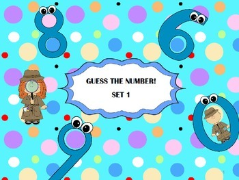 Guess The Number!  Set 1
