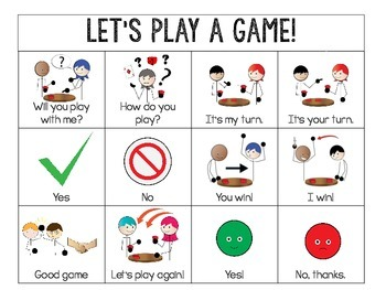 """""""Guess The Person"""" Game Visual Supports for Autism, ABA & Special Education"""