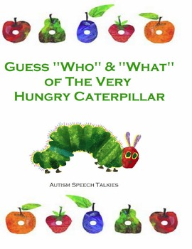 "Guess""WH"" Questions of The Very Hungry Caterpillar (Speech, Autism)"