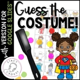 Guess What? Costumes! Game for Questions, Compare/Contrast and Vocab