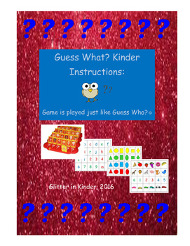 Guess What? Guess Who? Kinder