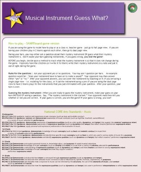 Guess What? Instrument identification