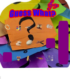 Guess What? Instrument identification (SMART board game)