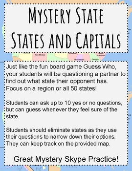Mystery State!