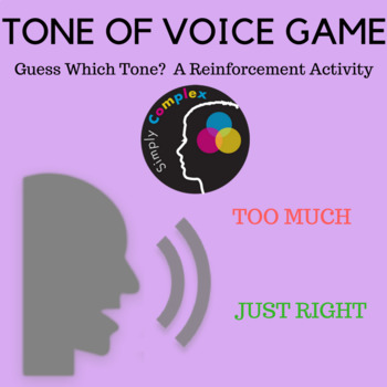 Guess Which Tone? A Game for Teaching Tone of Voice