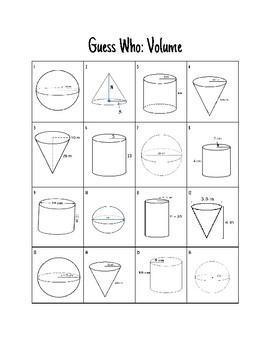 Guess Who 8th Grade Math Bundle