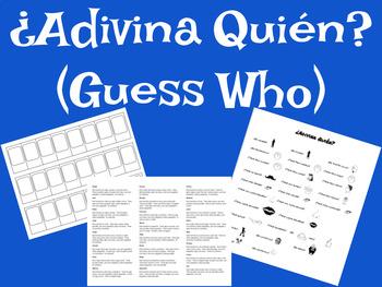 Guess Who - ¿Adivina Quién?
