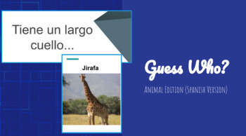 Guess Who? - Animal Edition