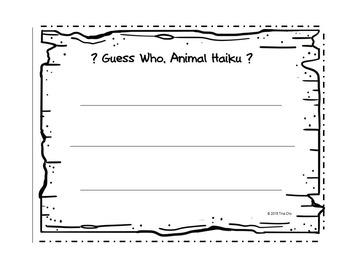 Guess Who? Animal Haiku: Interactive, Lift-the-flap Haiku Riddles