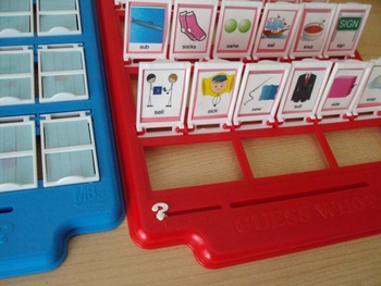 Guess Who! Articulation Game inserts - 11 game sets