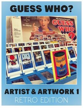 Art Guess Who: Artist & Artwork Edition